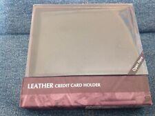 Marks & Spencer Black Leather Credit Card Holder New Boxed 850ZL
