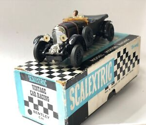 Vintage Scalextric C64 Bentley In Original Box Untested