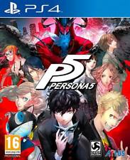 Persona 5 (PS4) BRAND NEW AND SEALED - QUICK DISPATCH - PAL IMPORT