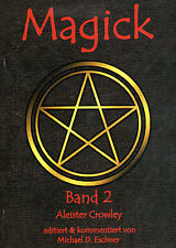 MAGICK Band 2 - Aleister Crowley BUCH - NEU