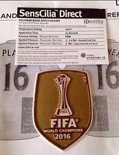 Club de fútbol del mundo FIFA 2016 RM campeón sportingid Lextra Fútbol Insignia Parche
