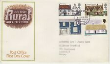 GB Stamps First Day Cover British Rural Architecture pre decimal CDS Edinburgh70