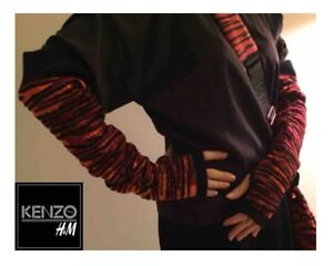Kenzo x HM Wool Blend Arm Warmers NWT Collector's Alert!!!
