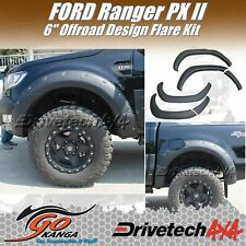DRIVETECH 4X4 DT-FK4OR 6 INCH Off Road Flare Kit ABS fits FORD RANGER PX2 15-17