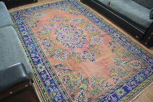 Bohemian Rug 5.9x9.4.Turkish Rug,Vintage Rug,Carpet,Antique Rug,Unique Rug,Bohem