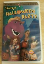 Barney's Halloween Party VHS Clamshell Excellent condition Classic Collection