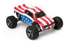 Custom Body American Flag for Traxxas 1/10 Rustler / Stampede Truck Shell Cover