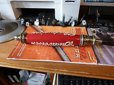 EXCELLENT BUDWEISER PUB STYLE LARGE TAP HANDLE METAL GLASS