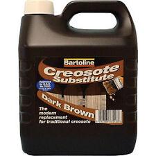 Bartoline creocote huile basé le traitement du bois 4l dark
