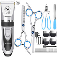 Dog Clippers,YiDon Low Noise Dog Grooming Clippers Cordless Pet Hair Trimmer Pet