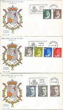 SPD FDC Primer dia España Serie Básica Edifil# 2599/2607 1981