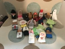 20 Different Finger Puppet Soft Toys - Great For Play - Education At The Moment