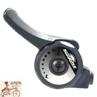 SUNRACE SL-M2T FRICTION 2/3-SPEED THUMB LEFT BICYCLE SHIFTER