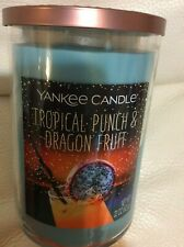 Yankee Candle Tropical Punch & Dragon Fruit Large Tumbler 22oz 2 Wick Tropical
