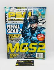PSM PLAYSTATION 2 Magazine METAL GEAR 2 Cover -  December 2001