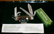 "Remington R4 Survival Camping Knife ""Camillus SFO"" UMC Shield W/Packaging,Papers"