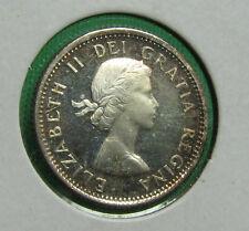 1958 Canada 10 cents proof like cameo