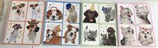 Mead Dog Cat Animal Notebooks 70 Wide Rule 4 Packs