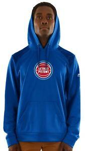 "Detroit Pistons Majestic NBA ""Armor 3"" Men's Pullover Hooded Sweatshirt"