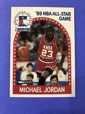 1989 - 1990 Fleer Hoops Michael Jordan Chicago Bulls #21 Basketball Card