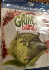 Dr. Seuss' How the Grinch Stole Christmas (Blu-ray + Digital) New, Sealed