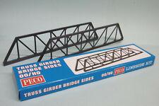 Peco - 2 Cotes de Pont Metallique treillis Plate Girder Bridge Sides Lk-11 HO OO