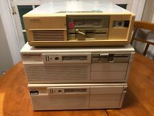 Vintage Lot of 3 Unisys Systems Desktop Computers 386 w/ Keyboard Working