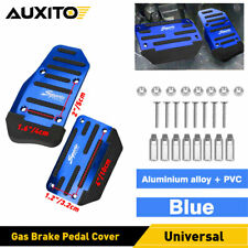 Blue Non Slip Automatic Gas Brake Foot Pedal Throttle Pad Cover Car Parts Ear Fits 1999 Jeep Wrangler
