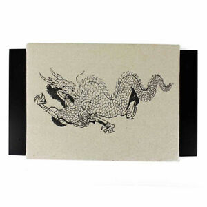 Makiwara mit Canvas Drachen gepolstert Wand Schlagkissen Karate Holz Leinen