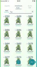Pokemon Go - Trade / Echange - Tyranocif / Tyranitar level 25  !!!