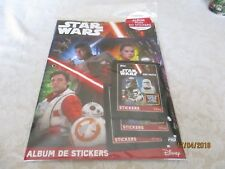 TOPPS - STAR WARS - LE REVEIL DE LA FORCE (Stickers) STARTER PACK FRENCH EDITION