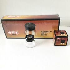 10 Loupe Magnifier A-P 8X LUPE  Viewer Fine Print Jewels Film Slides Lupa NIB