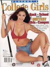 PLAYBOY College Girls Kitana Baker Hottest Girls on Campus December 2001