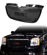 For 2007-2014 Gmc Yukon Denali Round Hole Mesh Front Bumper Grill Grille Black (Fits: Gmc)