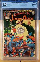 SUPERMAN'S PAL JIMMY OLSEN 135 CBCS 5.5 2ND DARKSEID ADAMS KIRBY CGC ? 1971