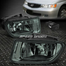 FOR 99-04 HONDA ODYSSEY SMOKED LENS FRONT BUMPER DRIVING FOG LIGHT LAMP W/SWITCH