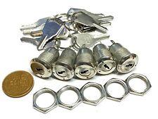 5 Sets Metal Key Switch Ks 02 Onoff Security Lock 12v 6v 250v Electronic B10