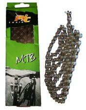 PYC Bicycle Chain  5 6 & 7 Speed MTB Road Bike Size 3/32 & 116 Links