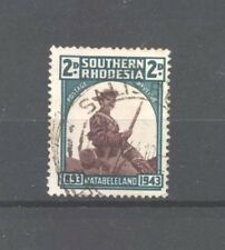 Southern Rhodesia 1943 Occupation of Matabeleland 2d, SG 61, Good Used