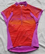 Women's ZOOT Cyclefit Cycle Jersey Size L Pink & Orange BNWT RRP $86 Bike