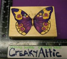 BUTTERFLY SPOTTED SWALLOWTAIL RUBBER STAMP HERO ARTS G1243 CREAKYATTIC