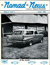 Nomad News Magazine January 1979 1957 Chevrolet EX 032817nonjhe