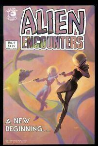ALIEN ENCOUNTERS #1, ECLIPSE COMICS, 1985, NM+ 9.6!