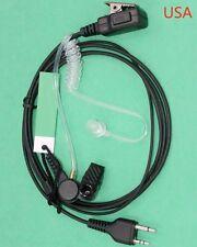 FBI Style Earpiece/Headset Mic Midland Radio GXT860VP4 LXT535VP3 LXT490VP3