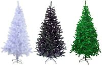 6ft Artificial Christmas Tree Metal Stand Traditional Xmas Decoration 650 Tips