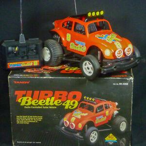 Turbo Beetle 49 Tandy Radio Shack Vintage RC Car 1980s Baja Bug VW Buggy Offroad