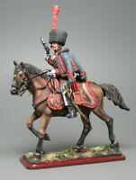 Painted Tin Toy Soldier Officer of the 3rd Hussar Regiment 54mm 1/32