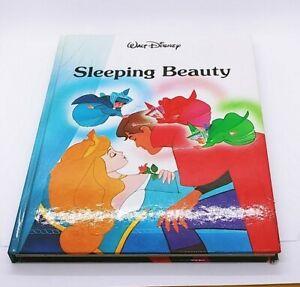Sleeping Beauty Story Book Hard Cover Walt Disney Walden Books Vintage 1986