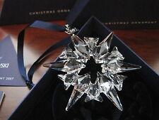 Swarovski Crystal 2007 Annual Christmas LARGE STAR Snowflake Ornament BAD BOX