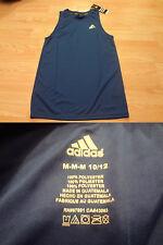 Youth Boys Adidas Climalite M(10/12) NWT Royal Blue Sleeveless Shirt
